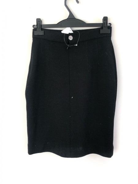 OLD ENGLAND(オールドイングランド) スカート サイズ36 S レディース美品  黒 ニット