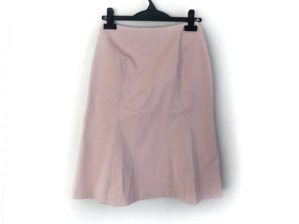 FRANCO FERRARO(フランコフェラーロ) スカート サイズ2 M レディース美品  ベージュ