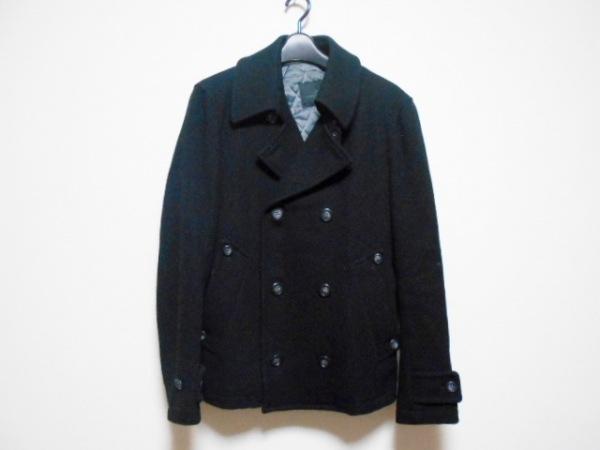 MEN'S MELROSE(メンズメルローズ) コート サイズ3 L メンズ 黒 冬物
