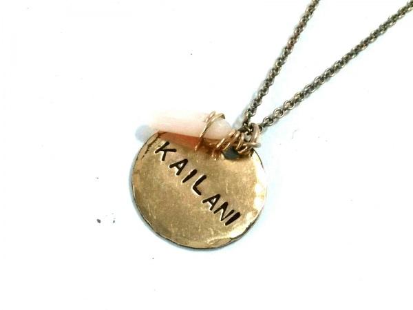 KAILANI(カイラニ) ネックレス美品  14KCF ゴールド×ピンク