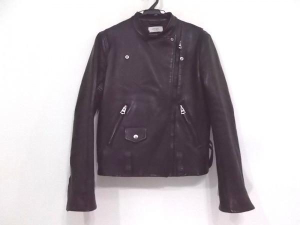 VONDEL(フォンデル) ライダースジャケット サイズ38 M レディース新品同様  黒