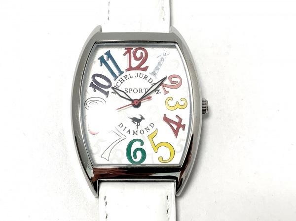 michel Jurdain(ミッシェルジョルダン) 腕時計 SG-1000 レディース 型押し加工