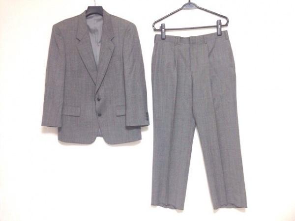 MASSIMO(マッシモ) シングルスーツ サイズ94AB4 メンズ ダークグレー×マルチ