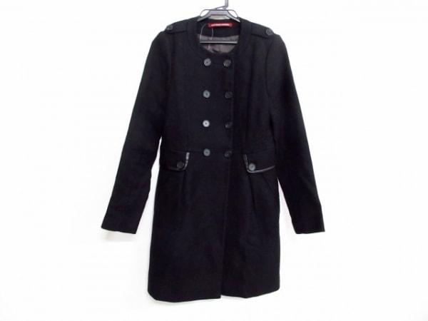 コントワーデコトニエ コート サイズ36 S レディース美品  黒 冬物
