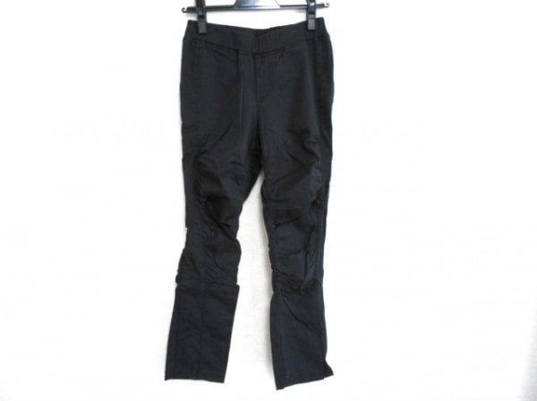 SENSO-UNICO(センソユニコ) パンツ サイズ38 M レディース 黒 ギャザー