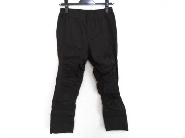 SENSO-UNICO(センソユニコ) パンツ サイズ38 M レディース ダークブラウン ギャザー