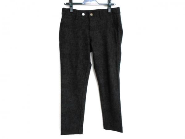 SENSO-UNICO(センソユニコ) パンツ サイズ40 M レディース 黒×ダークグレー