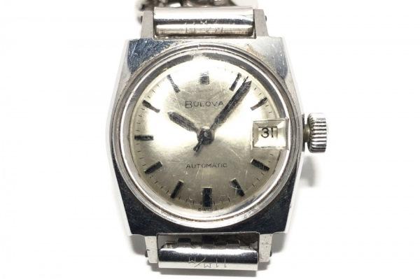Bulova(ブローバ) 腕時計 M6 レディース シルバー