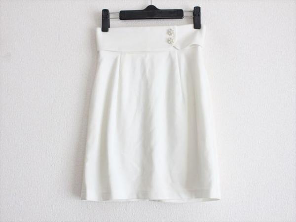 michell Macaron(ミシェルマカロン) スカート サイズS レディース 白