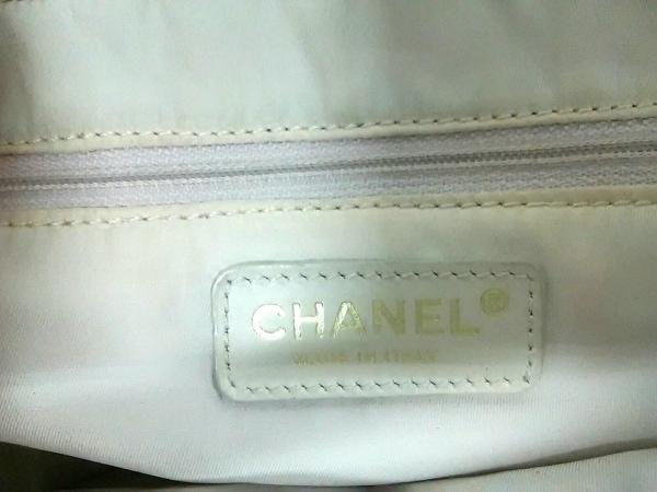 CHANEL(シャネル) ハンドバッグ ニュートラベルライン ピンク×白 ジャガード×レザー