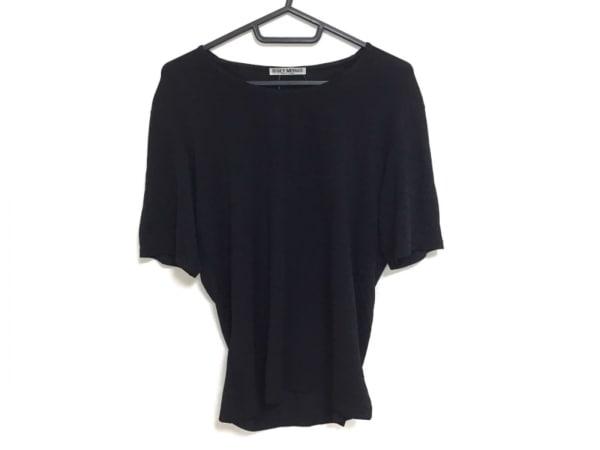 ISSEYMIYAKE(イッセイミヤケ) 半袖Tシャツ サイズ3 L レディース 黒