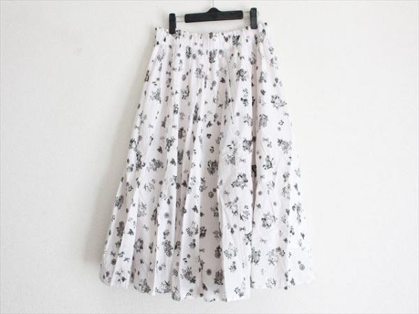 フランシュリッペ スカート サイズFL5 レディース美品  ライトピンク×黒 ウサギ