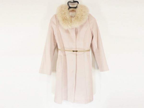 プロポーションボディドレッシング コート サイズ1 S レディース美品  ピンク 冬物