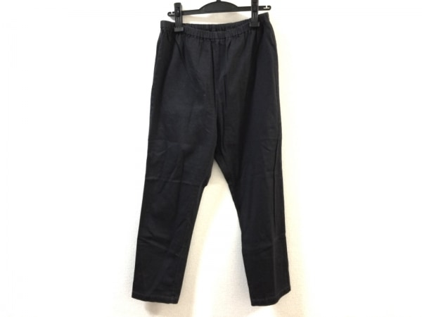 tumugu(ツムグ) パンツ サイズ2 M レディース 黒 ウエストゴム