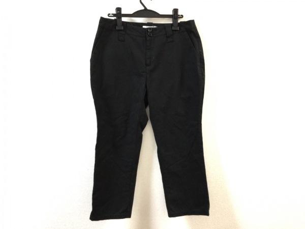 homspun(ホームスパン) パンツ サイズL レディース 黒
