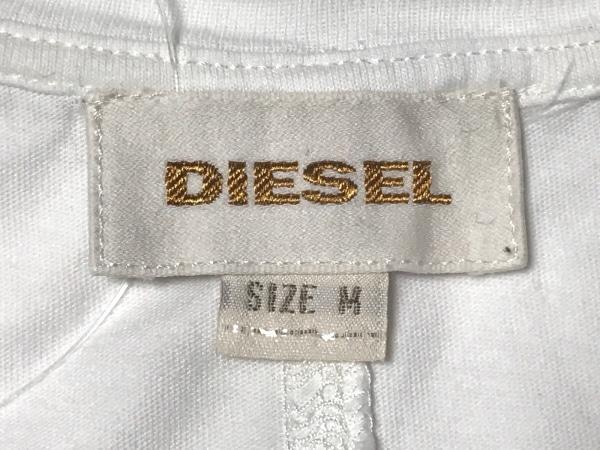 DIESEL(ディーゼル) タンクトップ サイズM メンズ 白