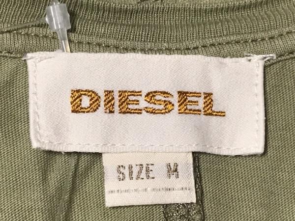 DIESEL(ディーゼル) タンクトップ サイズM メンズ カーキ