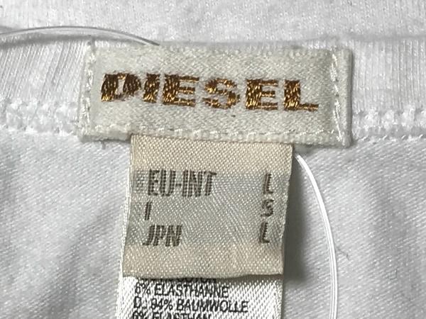 DIESEL(ディーゼル) タンクトップ サイズL メンズ 白
