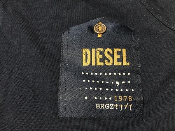 DIESEL(ディーゼル) タンクトップ サイズL メンズ ネイビー