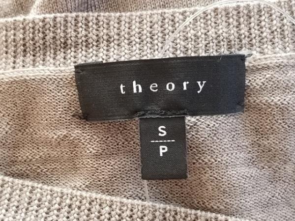 theory(セオリー) 長袖セーター サイズS レディース ライトブラウン
