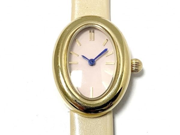 induna(インデュナ) 腕時計 REF.053 レディース ベージュ