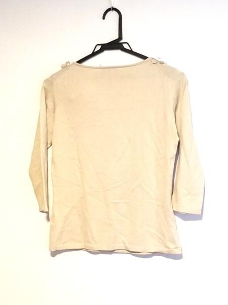 ランバンコレクション 七分袖セーター サイズ38 M レディース ベージュ