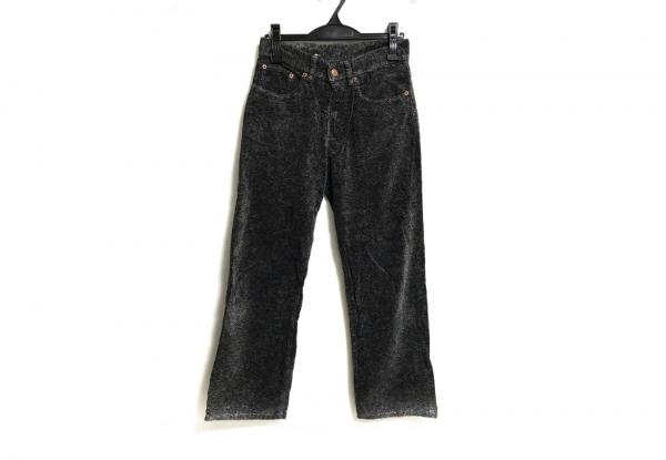 ダルチザン パンツ サイズ28 L レディース美品  黒×グレー×ライトグレー