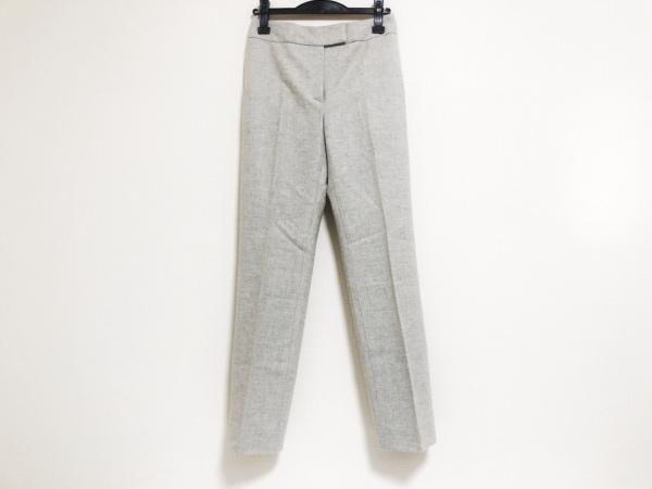 LANVIN(ランバン) パンツ サイズ36 S レディース美品  ライトグレー