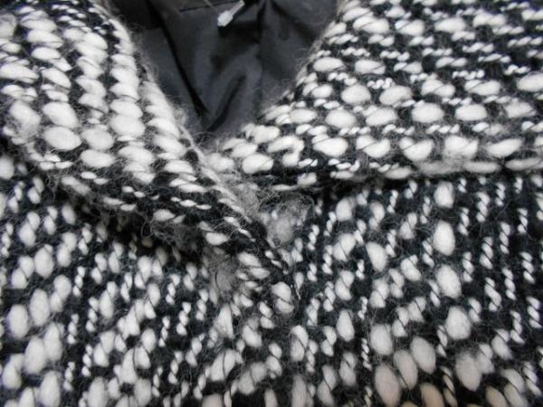 INDIVI(インディビ) コート サイズ38 M レディース 黒×白 冬物