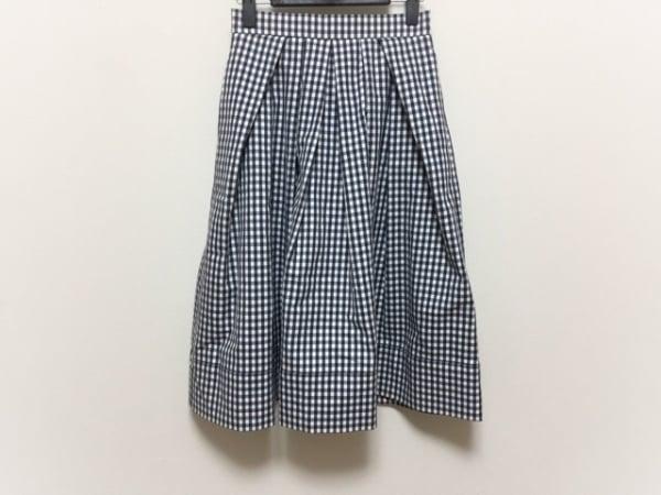 DRWCYS(ドロシーズ) スカート サイズ0 XS レディース美品  黒×アイボリー チェック柄