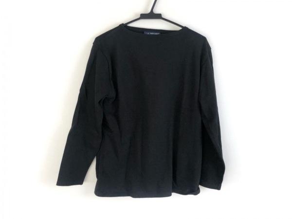 SAINT JAMES(セントジェームス) 長袖カットソー サイズ36 S レディース美品  黒