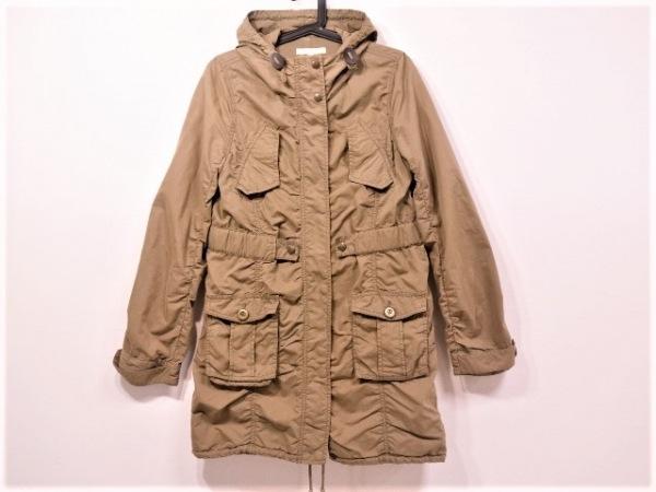 NICOLE(ニコル) コート サイズ40 M レディース美品  カーキ white/春・秋物