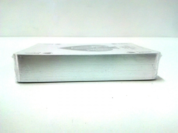 HERMES(エルメス) 小物美品  グレー×オレンジ トランプ 紙