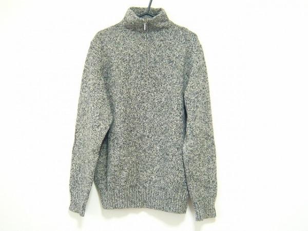 ErmenegildoZegna(ゼニア) 長袖セーター サイズ48 XL メンズ ダークグレー ハイネック