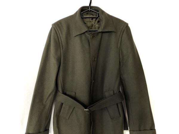 コスチュームナショナルオム コート サイズ48 XL レディース カーキ 冬物