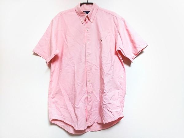 RalphLauren(ラルフローレン) 半袖シャツ サイズM メンズ ピンク