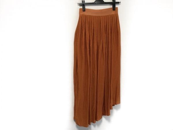 demylee(デミリー) ロングスカート サイズXS レディース ブラウン ウエストゴム