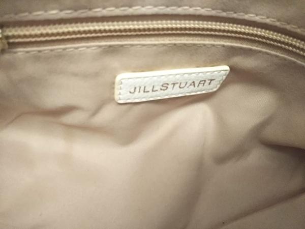 JILL STUART(ジルスチュアート) ハンドバッグ美品  アイボリー 合皮