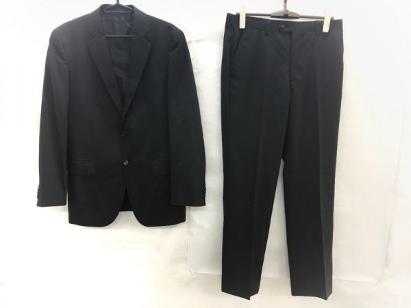 R.Newbold(アールニューボールド) シングルスーツ サイズL メンズ 黒×アイボリー
