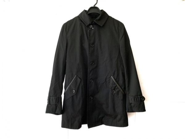 MEN'S MELROSE(メンズメルローズ) コート サイズ4 XL メンズ 黒 冬物