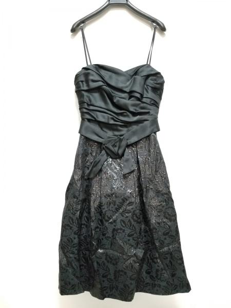 9af36e018878d ... aimer(エメ) ドレス サイズ2 M レディース美品 黒×ダークグレー 花柄 ...