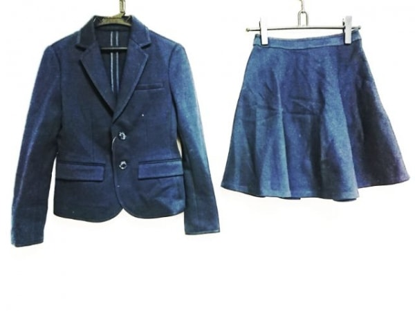 PRINGLE1815(プリングル) スカートスーツ サイズUK8 M レディース ダークネイビー