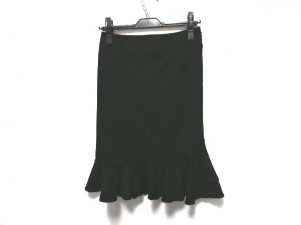 MATERIA(マテリア) スカート サイズ34 S レディース美品  黒