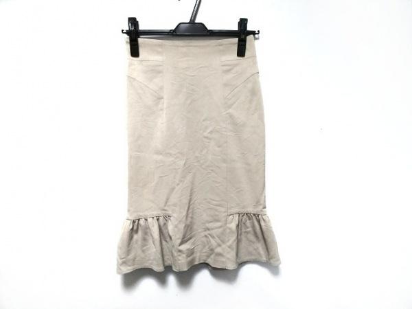 MATERIA(マテリア) スカート サイズ36 S レディース美品  ベージュ