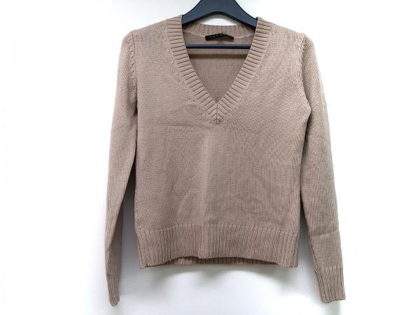 theory(セオリー) 長袖セーター サイズ2 S レディース ベージュ