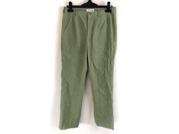 MIEKO UESAKO(ミエコウエサコ) パンツ サイズ42 L レディース ライトグリーン
