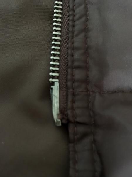 Polo Jeans(ポロジーンズ) ダウンベスト サイズL メンズ ダークブラウン 冬物