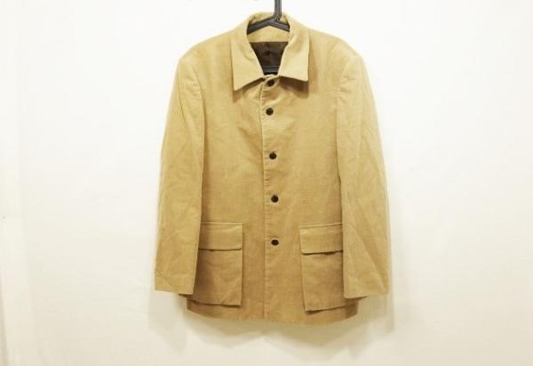 RYKIEL HOMME(リキエルオム) ジャケット サイズ46 XL メンズ美品  ベージュ