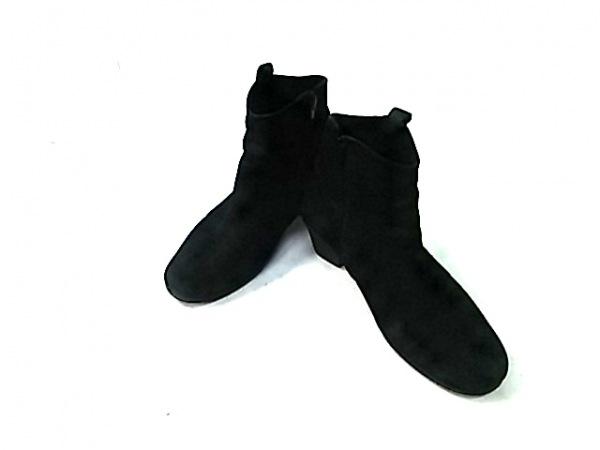 Gabor(ガボール) ショートブーツ 3 1/2 レディース 黒 ヌバック×スエード