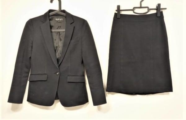 INDIVI(インディビ) スカートスーツ サイズ36 S レディース美品  黒